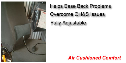 Lumbar Support for Seat Covers
