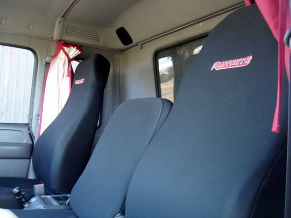 Ruffnuts Seat Covers for a Truck Black Folmatex