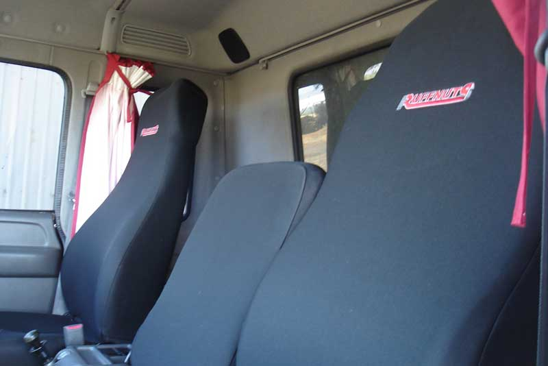 Ruffnuts Seat covers for Truck in Black Folmatex