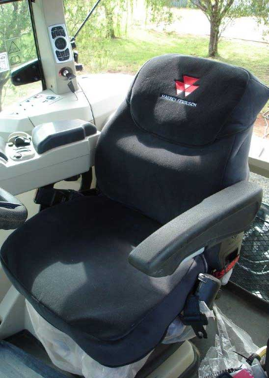 Ruffnuts seat cover for Massey Ferguson tractor