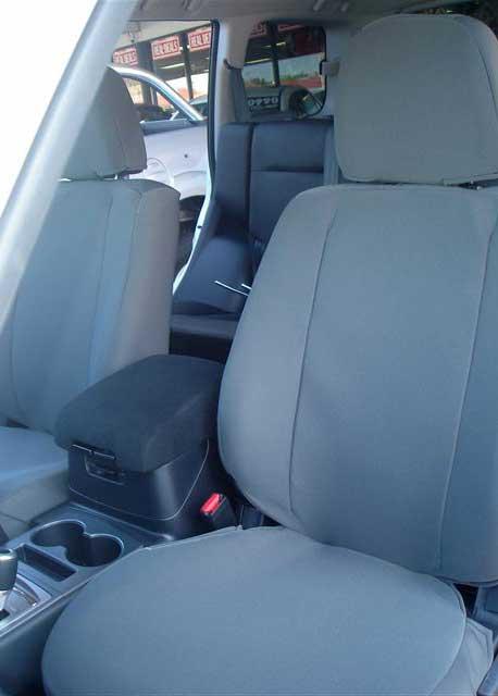 Tuffnuts canvas seat cover for mitsubishi pajero