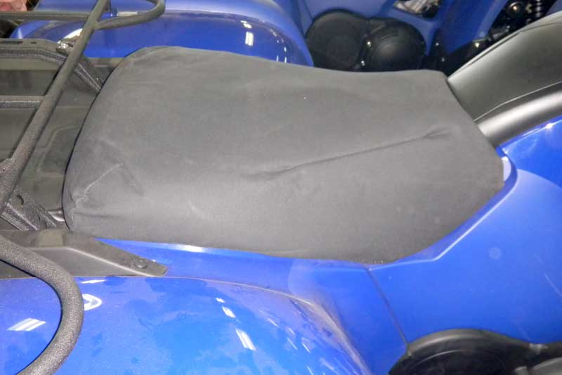 Tuffnuts canvas seat cover for yamaha quad bike