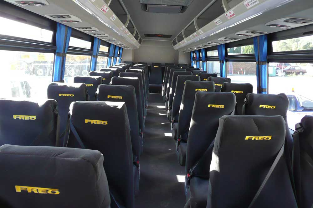 Freo Bus Seats - seat covers